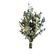 Billede af Living Flowers Green & White buket