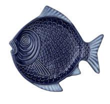 Billede af Bungalow Serving Dish Fish, 29x26,5x2,2 cm - Topaz