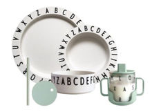 Billede af Design Letters Eat & Learn Starter Set Gift Box - Soft Green