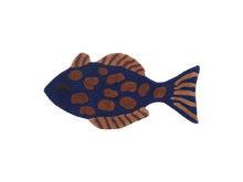 Billede af Ferm Living Fish Tufted Wall/ Floor Deco - Multi