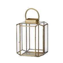 Billede af Bungalow Lanterne H: 31 cm - Leela Golden