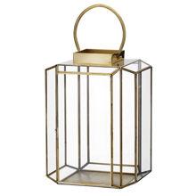 Billede af Bungalow Lanterne H: 38 cm - Leela Golden