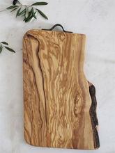 Billede af Made by Mama - Skærebræt i oliventræ - Stort