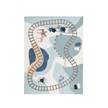 Billede af Kid's Concept EDVIN Woodland rug 130x170 - Green/Multi