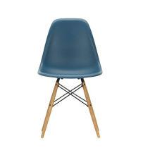 Billede af  Vitra Home Eames Plastic Chair DSW H: 83 cm - Sea Blue/ahorn
