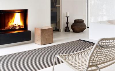 Sådan indretter du dit hjem med tæpper